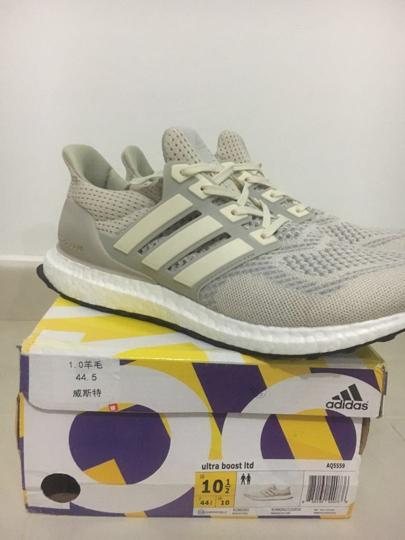 2eff4bc9527 Adidas Ultra Boost Cream Chalk LTD