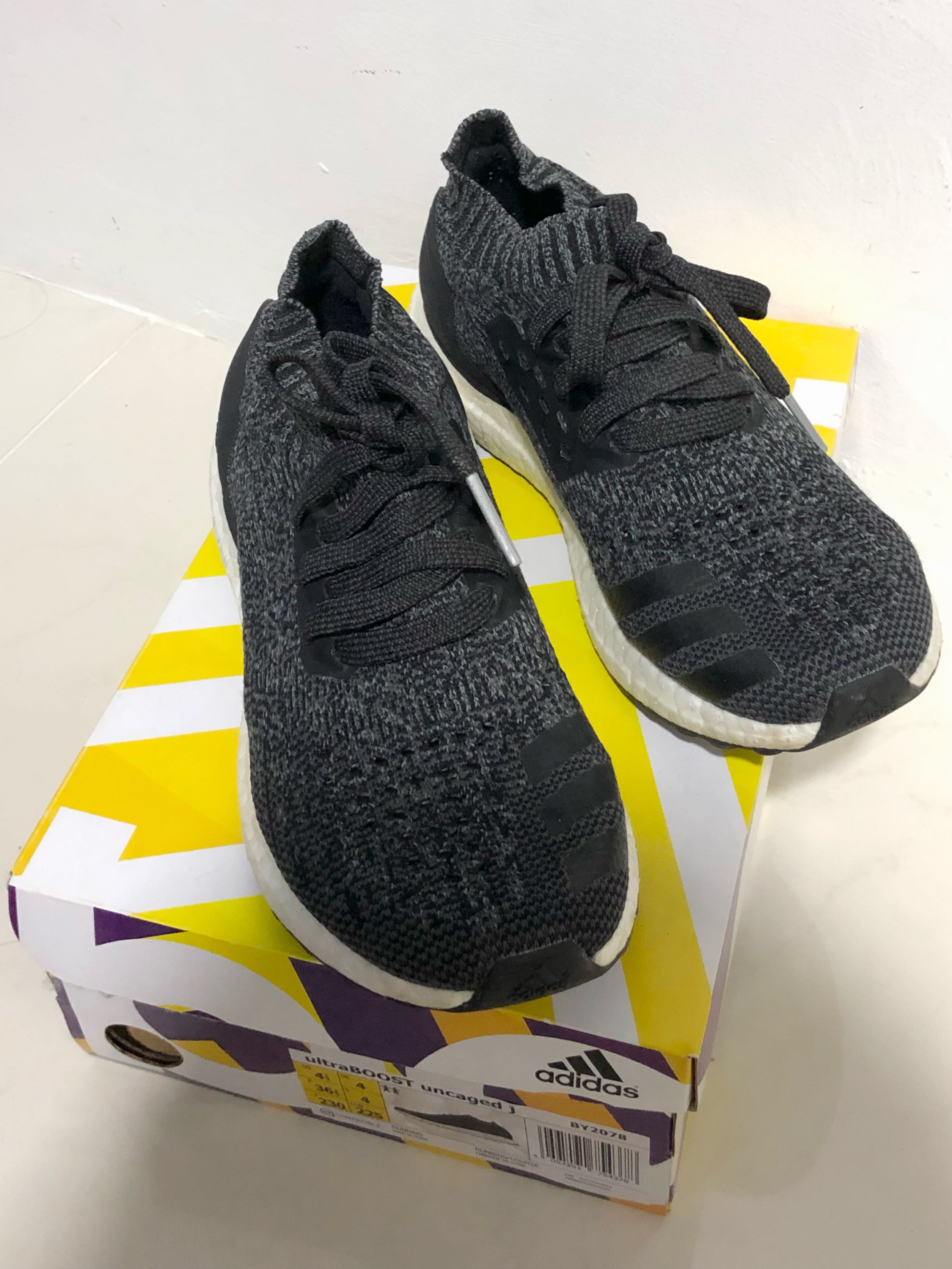 Adidas Ultra Boost Uncaged - Carbon  Black f100b5922