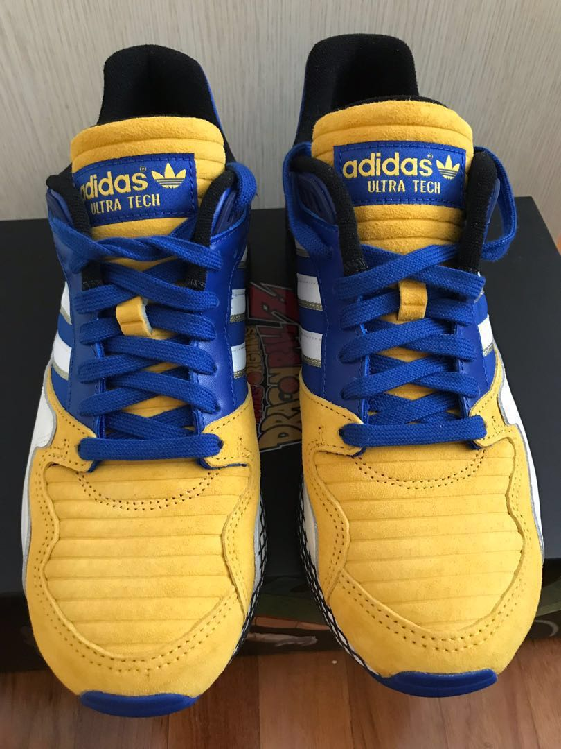a30835a21b8 Adidas Ultra Tech Dragonball z Vegeta