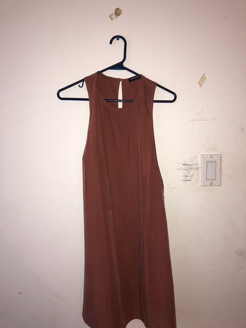 American Apparel Dusty rose dress
