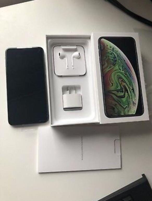 Authentic Apple iPhone XS Max + Free wireless earbud