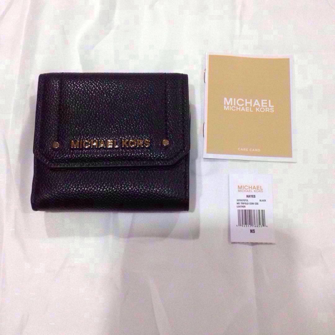 fe7e352d95fe Authentic Brand New MK Michael Kors Hayes Wallet