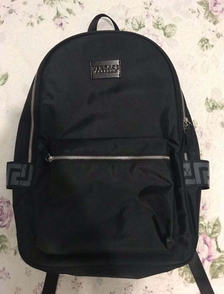 c36eb051c2 Authentic Versace backpack, Men's Fashion, Bags & Wallets, Backpacks ...
