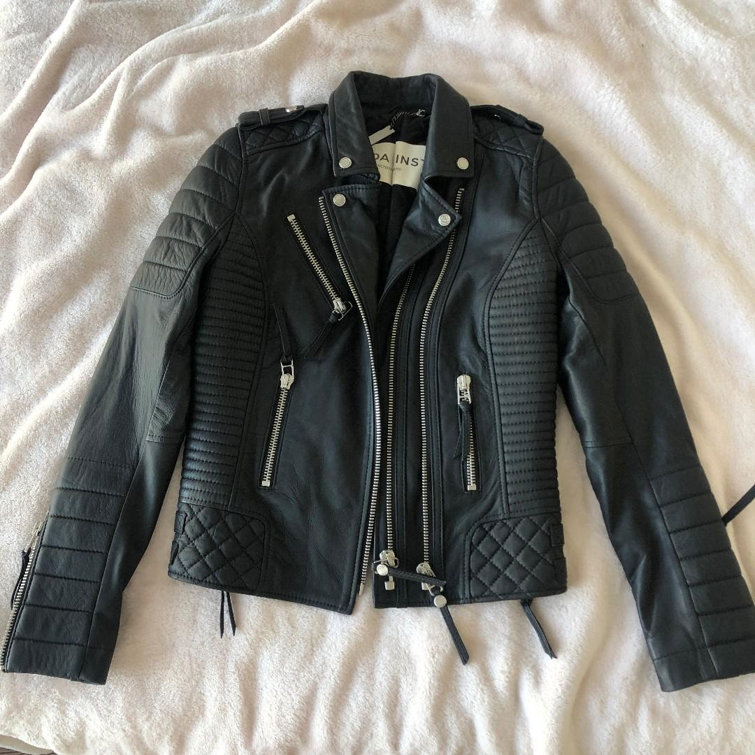 BODA SKINS - LEATHER JACKET SIZE S - WORN ONCE RRP: $830