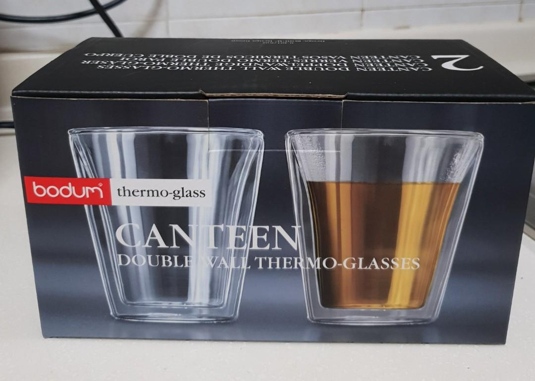 Bodum Double Wall Thermo Glasses *Price lowered from S$20. Clearance sale!