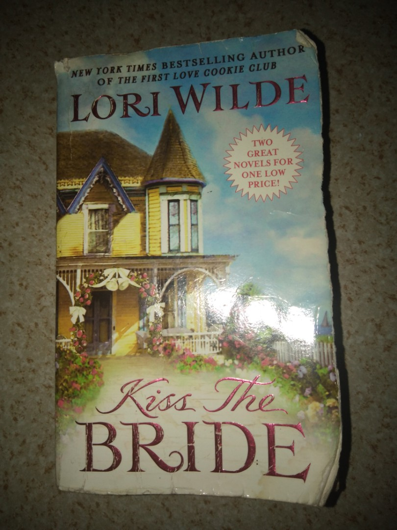 Book for Sale! Kiss the Bride by Lori Wilde only 100 pesos!