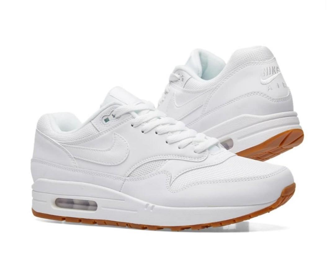 Air Max 1 white size EU 45 / UK
