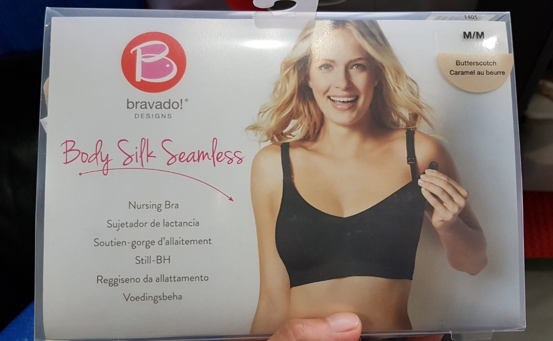 4cbd38939640b Bravado Body Silk Seamless Bra (Butterscotch colour), Babies & Kids ...