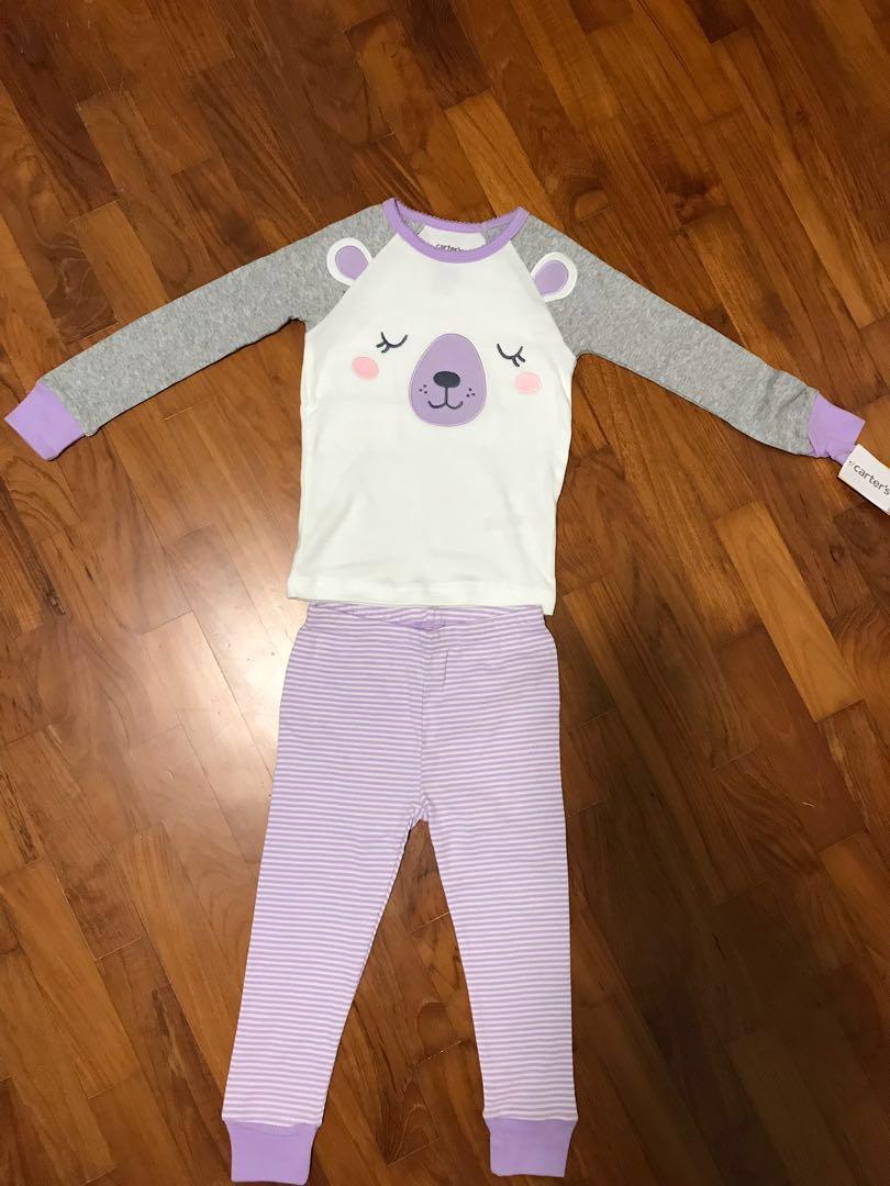 82ad91e3a98d Carter s 4-Piece Bear Snug Fit Cotton PJs