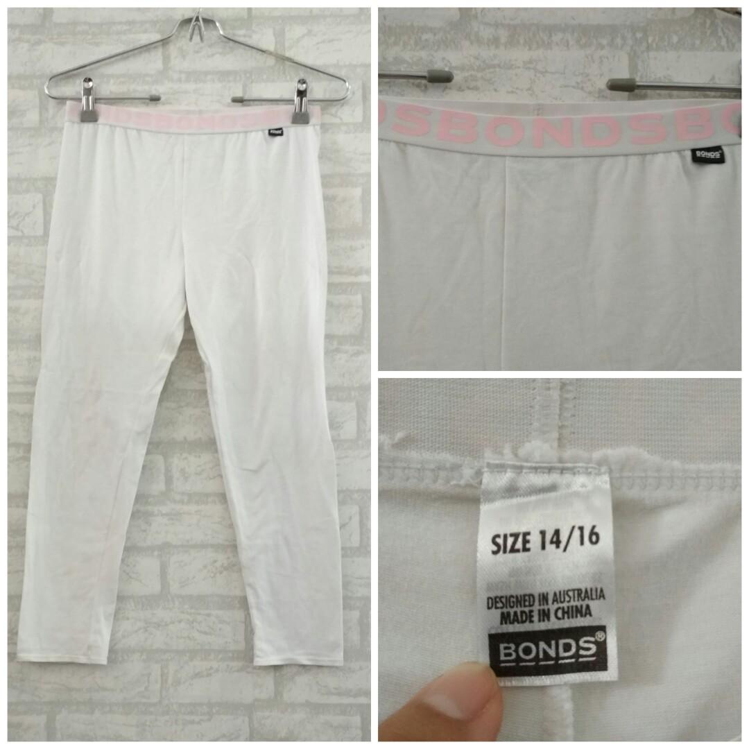 Celana Legging Putih Remaja Harga Nett Fesyen Wanita Pakaian Wanita Bawahan Di Carousell