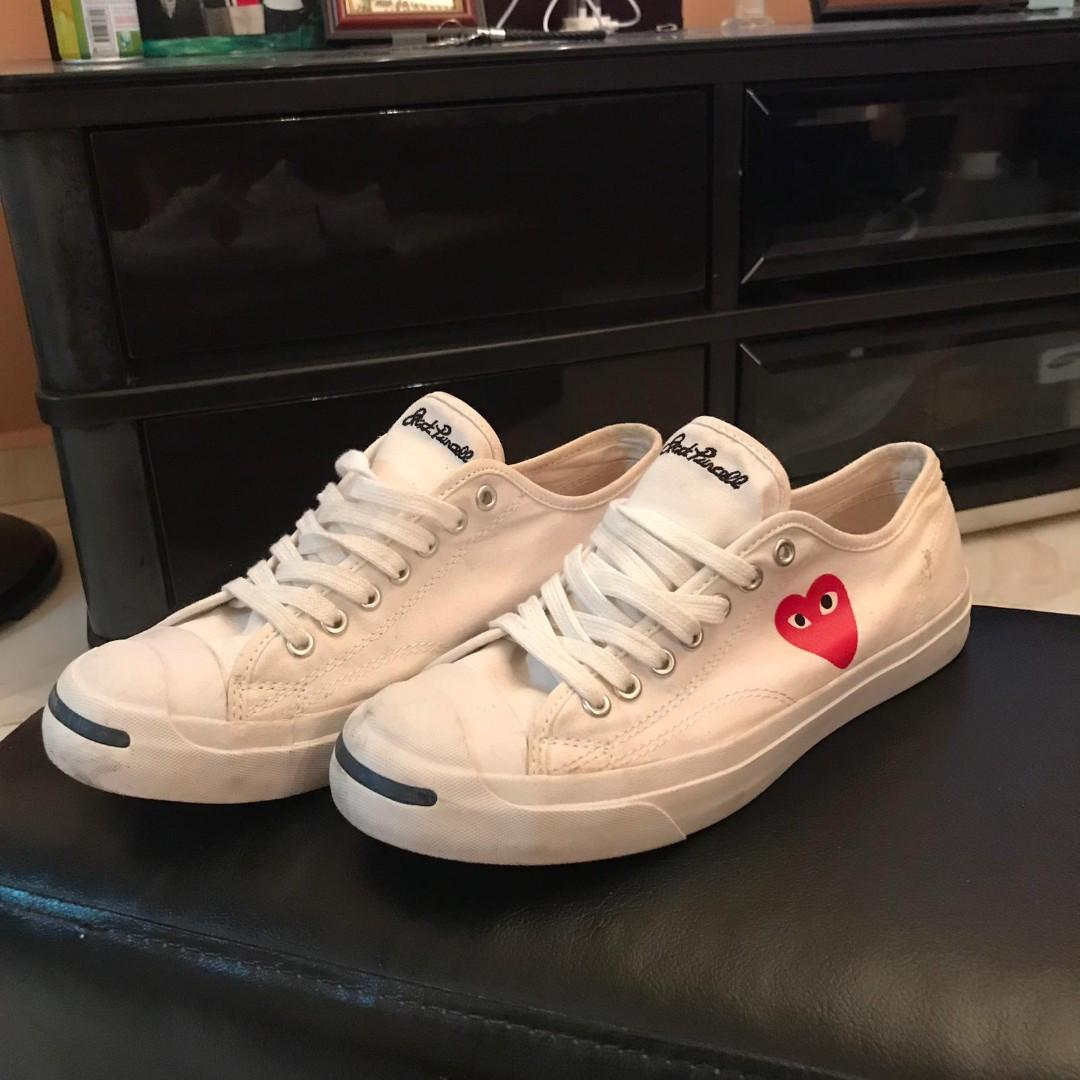 Converse Jack Purcell x Play COMME