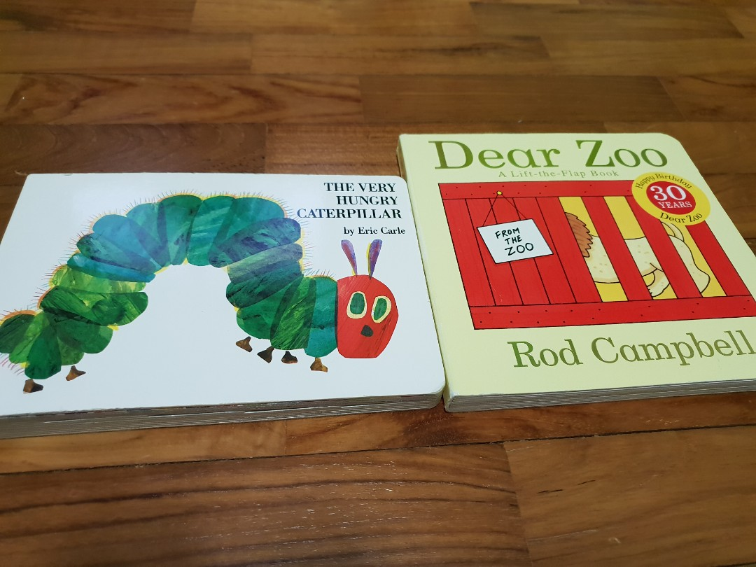 Dear Zoo & The Very Hungry Caterpillar