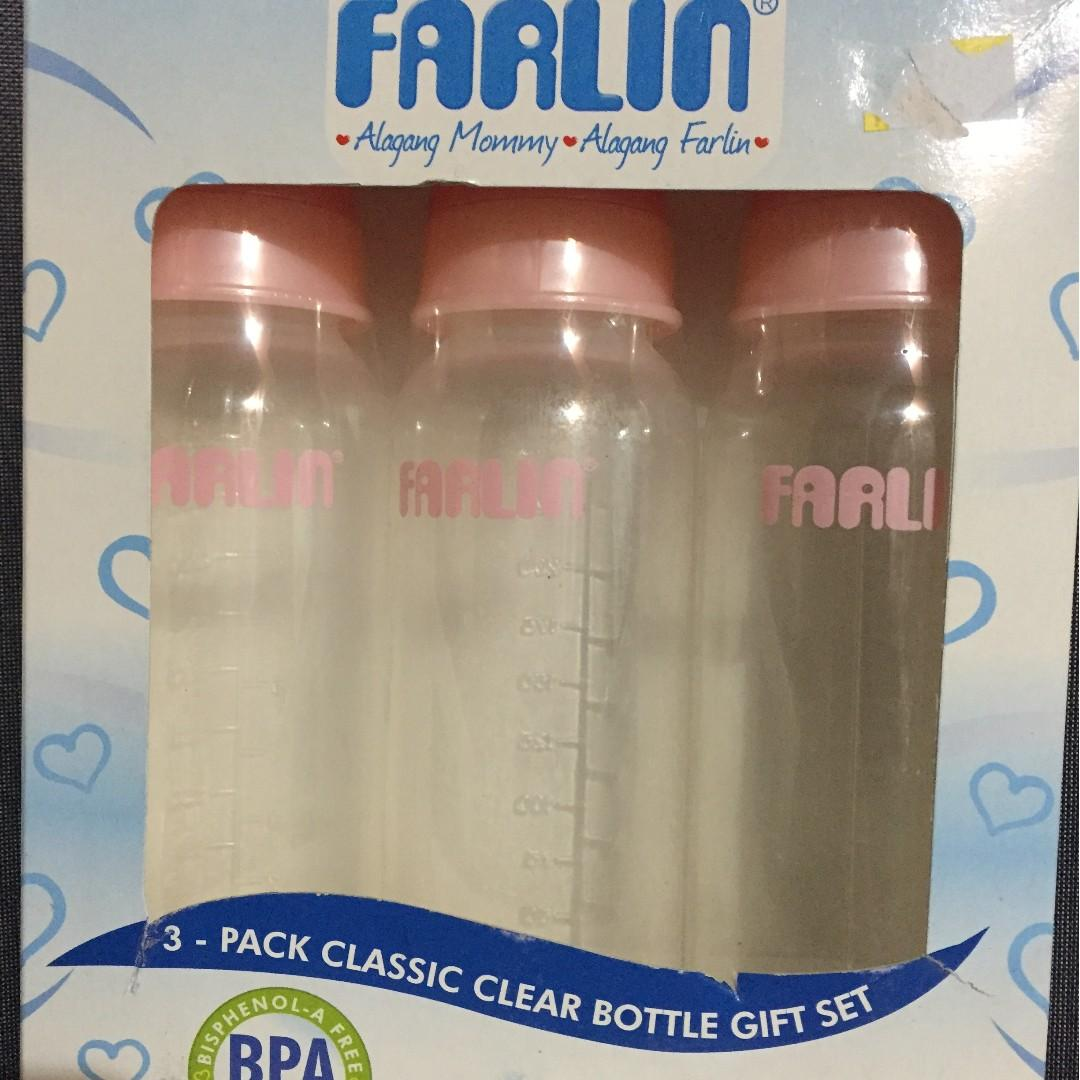 Farlin Crystal Clear (PINK and White available) on Carousell