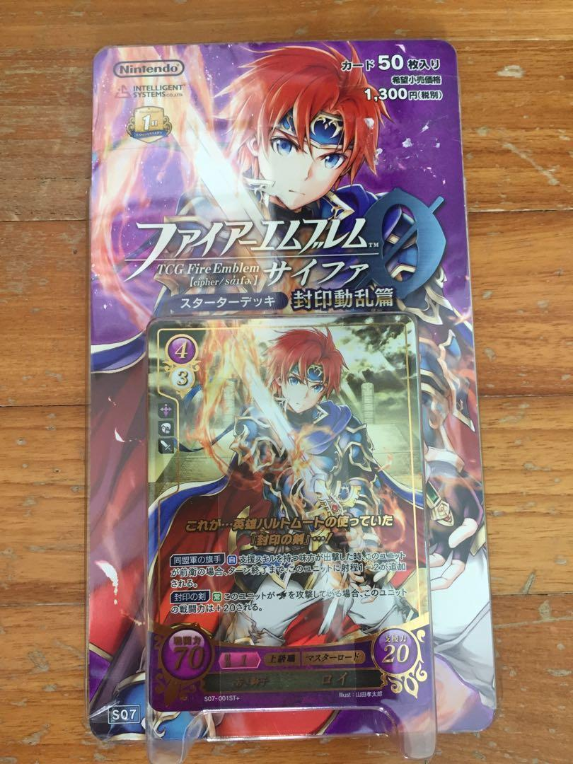 Fire Emblem Cipher (Roy Deck), Toys & Games, Board Games