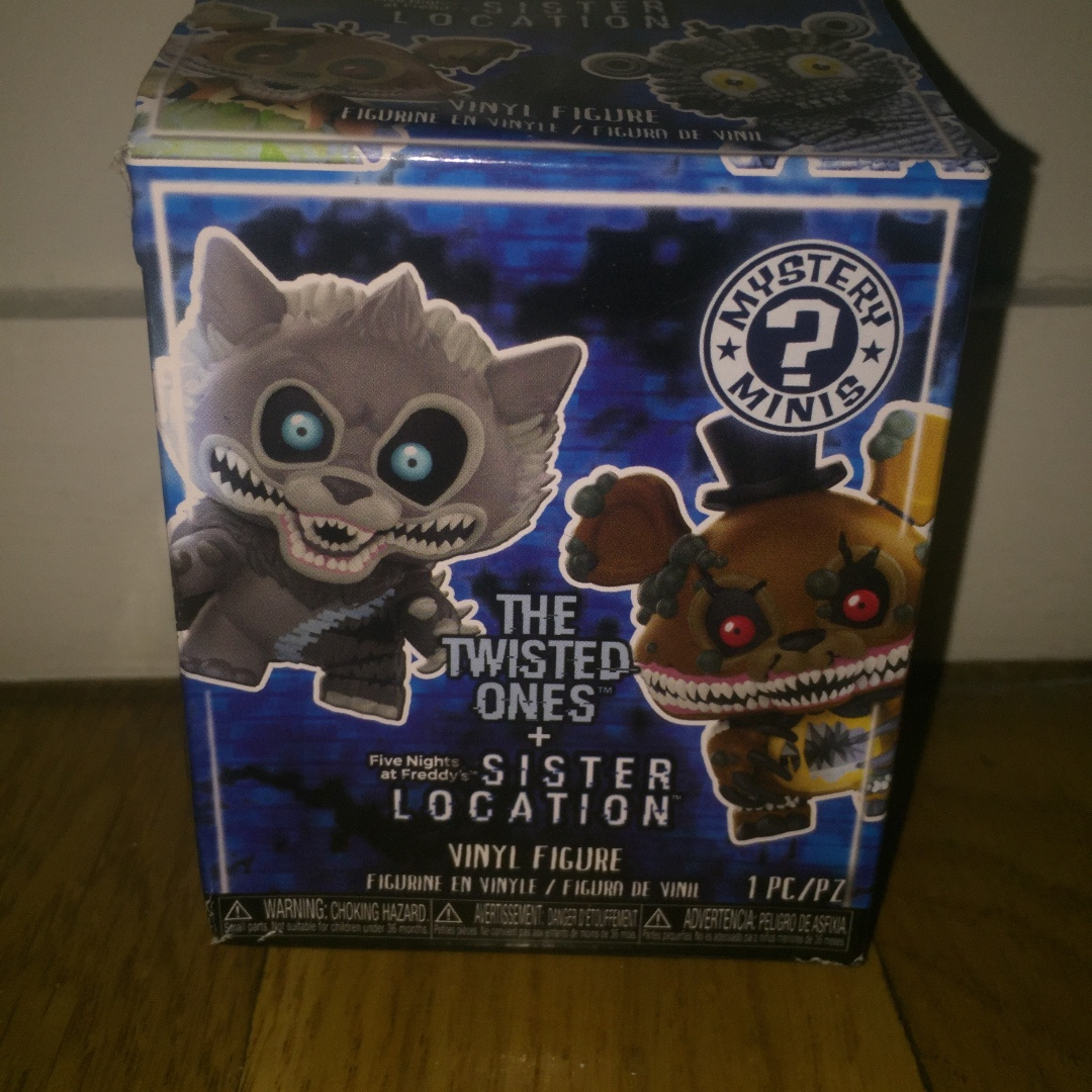 Five nights at freddy's the twisted ones mystery minis blind