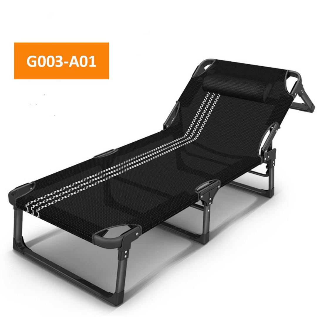 Folding Bed Camping Bed Deck Chair Office Bed Single Bed