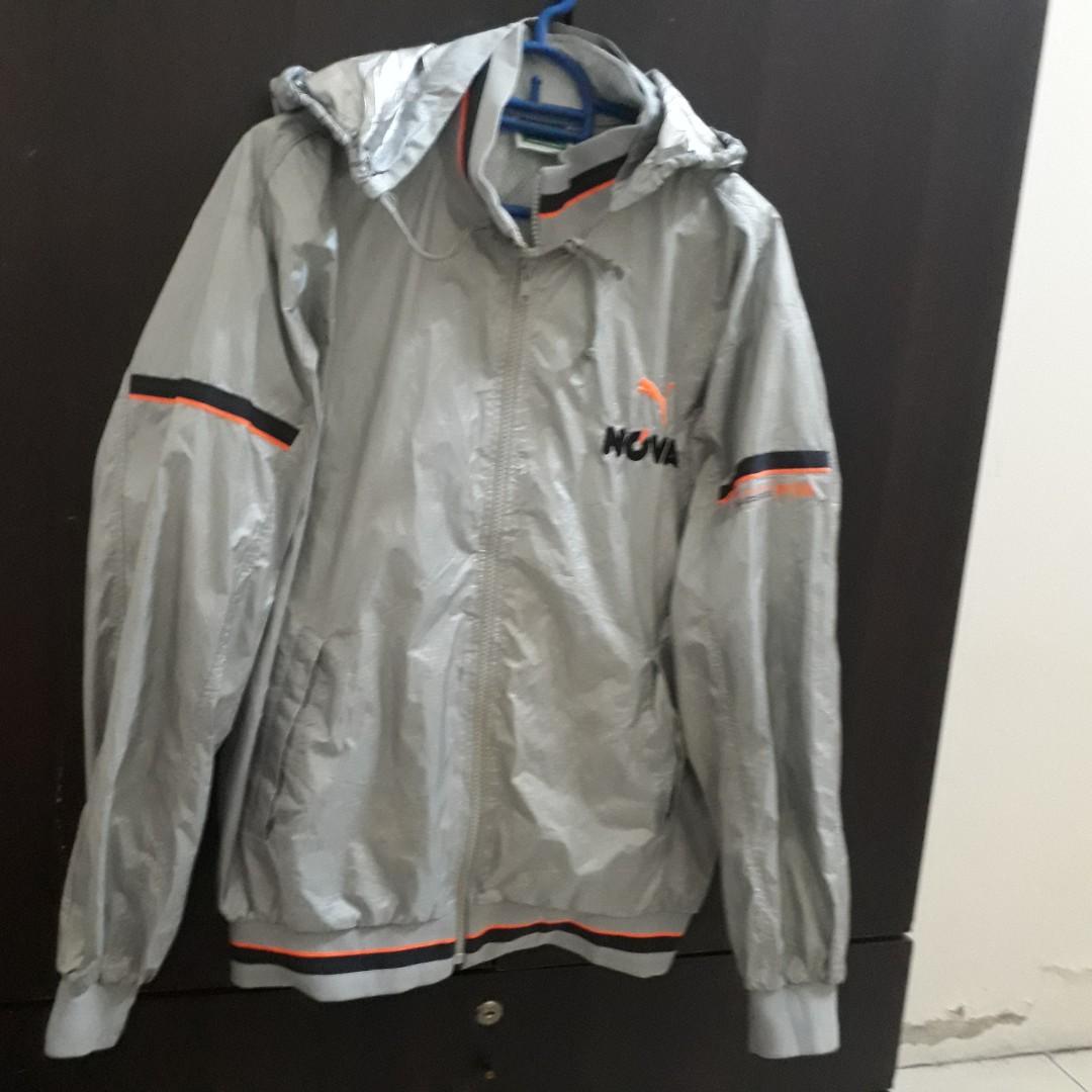 9811daabe Vintage 90's Puma Nova Nylon jacket sweatshirt