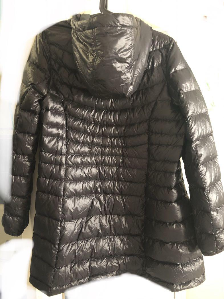 GIORDANO mid long hooded Down Jacket