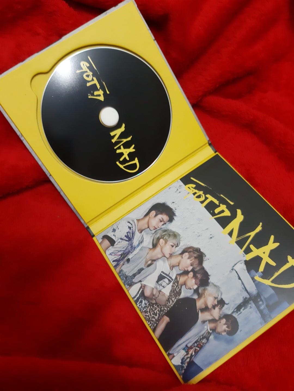 GOT7 MAD ALBUM Thailand version