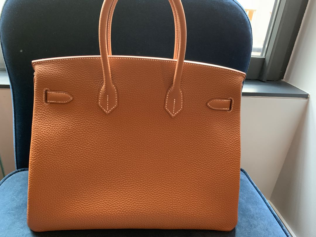 619299e4ded Hermes Most Classic Colour - Birkin 35 Gold Togo