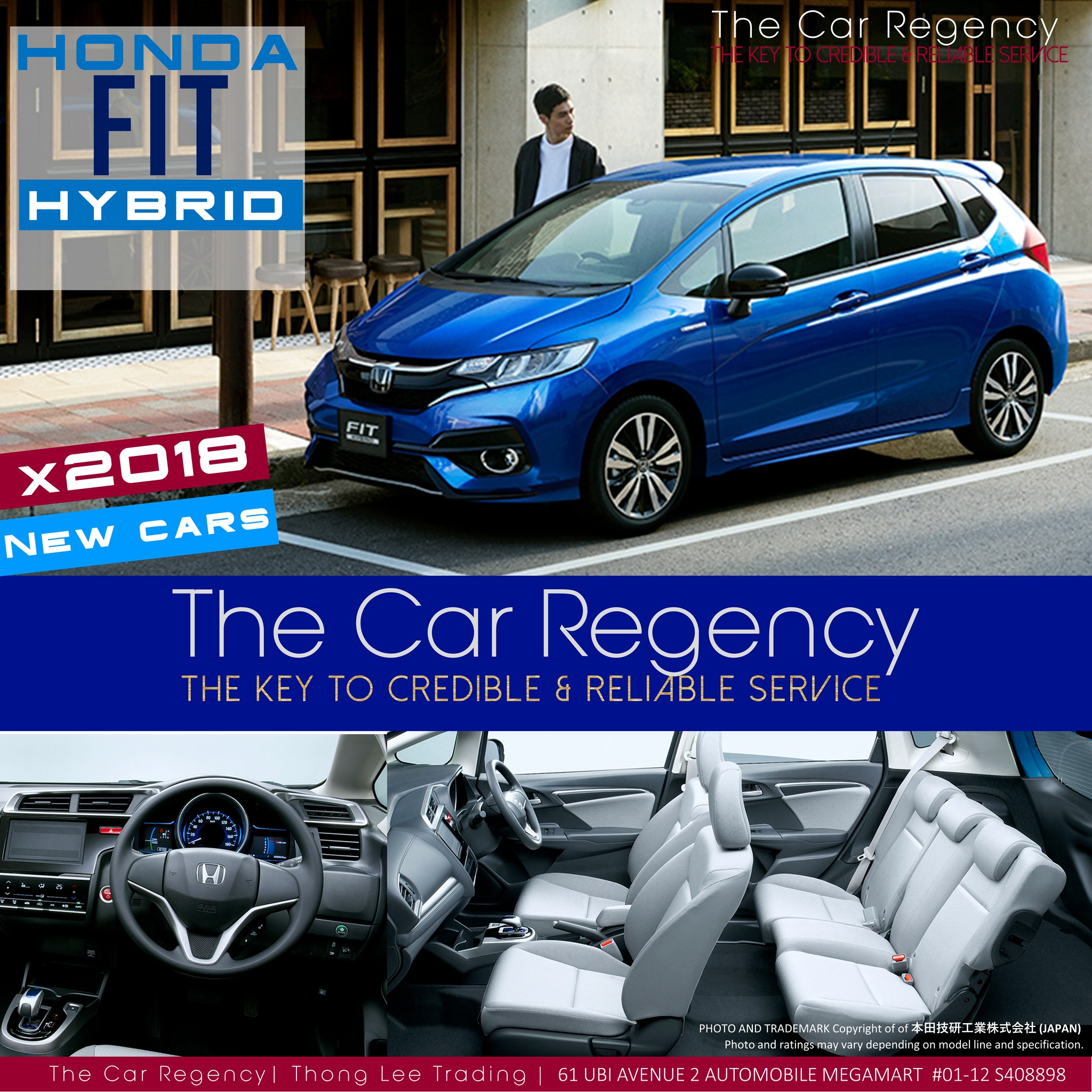 Honda Honda Fit Jazz Hybrid New 2018 Mini 5 Seater