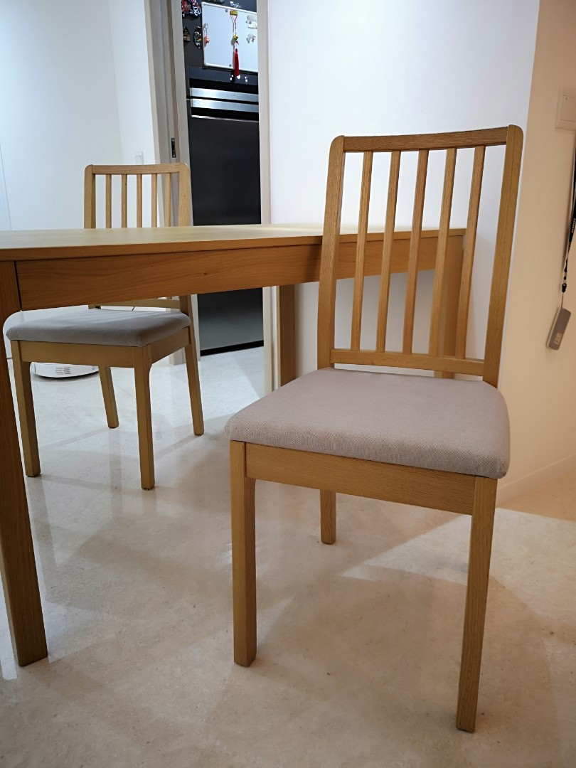 Ikea Ekedalen Extendable Table 120180 X 80cm Furniture Tables