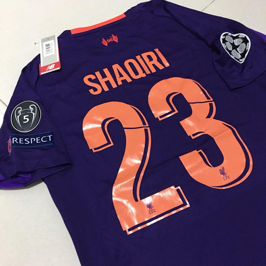 online store 17f3d 071a8 INSTOCK SIZE S Liverpool away jersey SHAQIRI, Sports, Sports ...