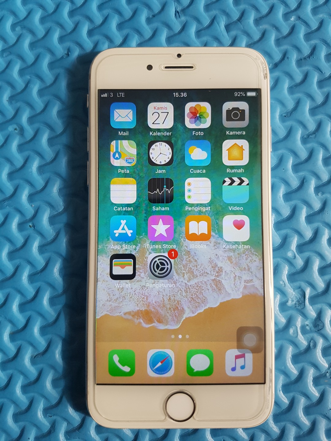 iPhone 6 Silver 64GB Minus baca efcb76a442