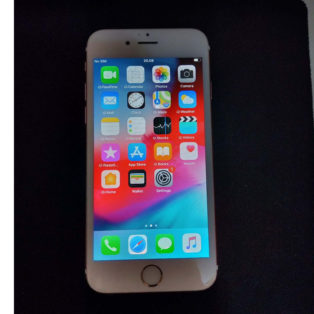 Iphone 6S 64GB Rose Gold Fullset Nego c4266df97f