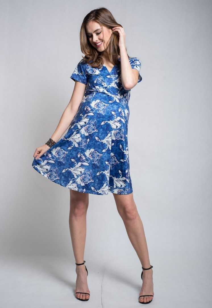 55e5edb508bcd JEC Stella Empire Nursing Dress, Women's Fashion, Clothes, Dresses ...
