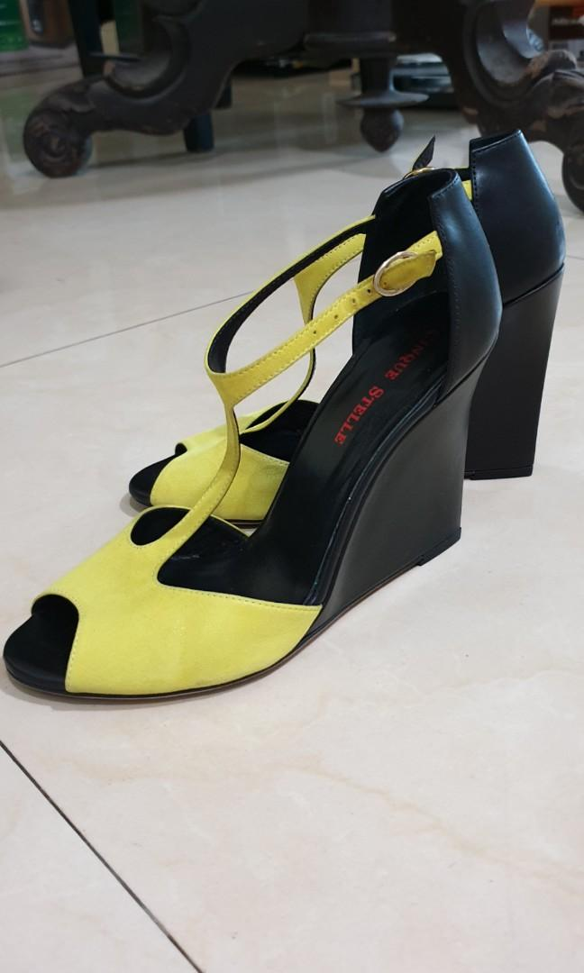 Lime Green Heel Shoes