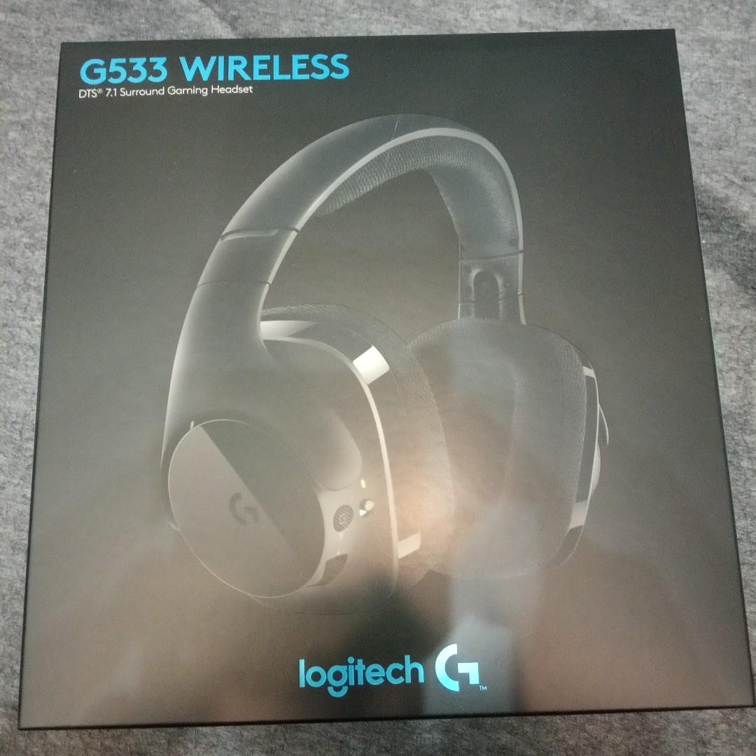 49697d8b97f LOGITECH G533 Wireless 7.1 Surround Gaming Headset, Electronics ...