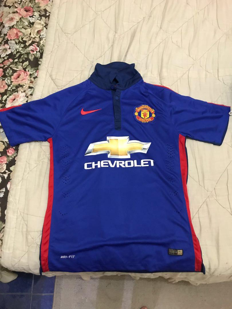 manches united away  jersey 2014/2015