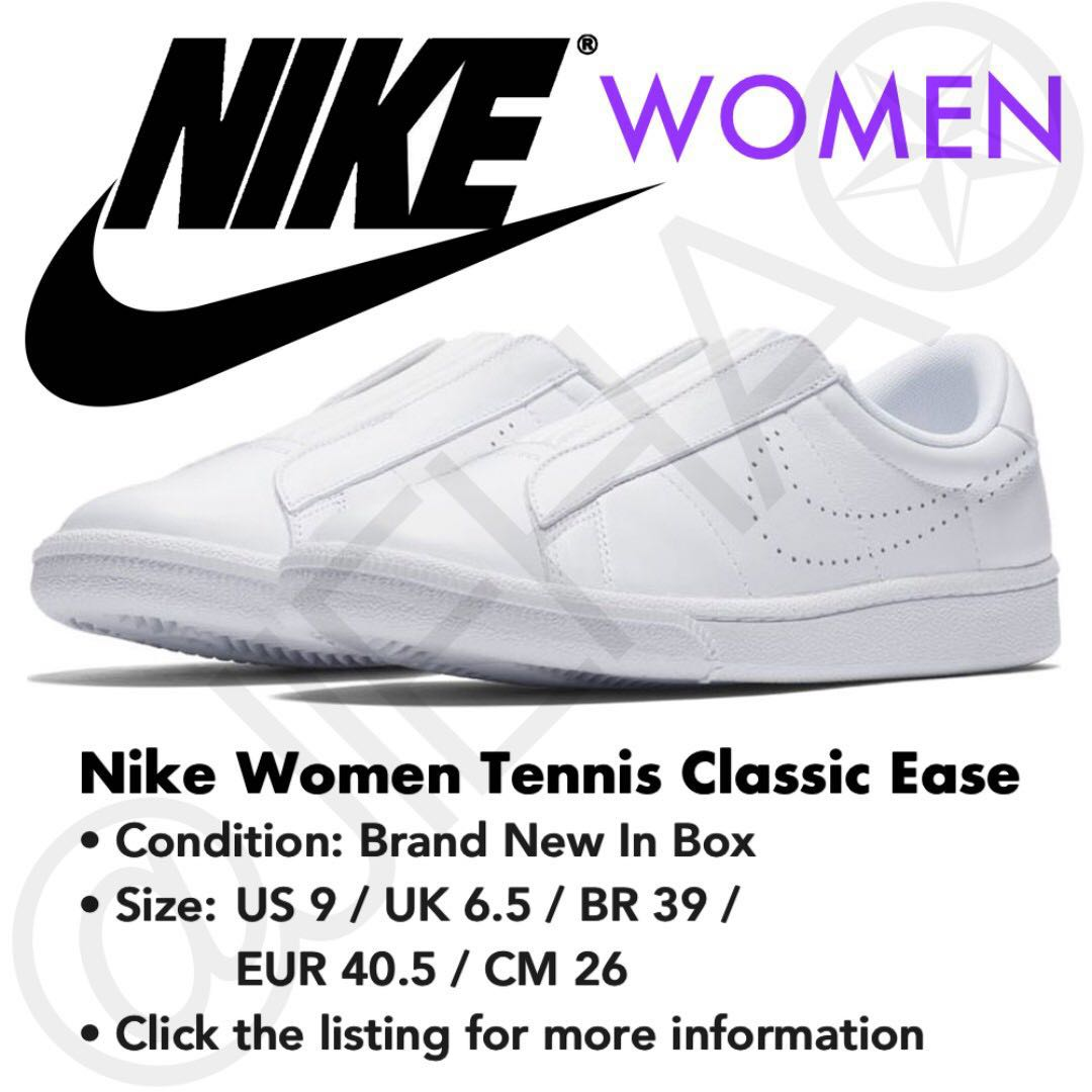 separation shoes db8cf bdb10 NIKE WMNS 896504-100 Tennis Classic Ease White, Women s Fashion, Shoes,  Sneakers on Carousell