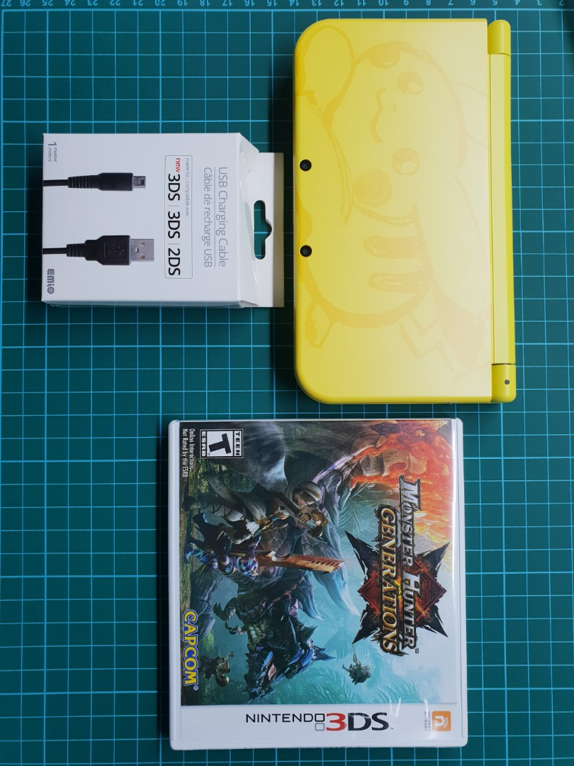 Nintendo 3DS XL Pikachu Edition (Nego available)