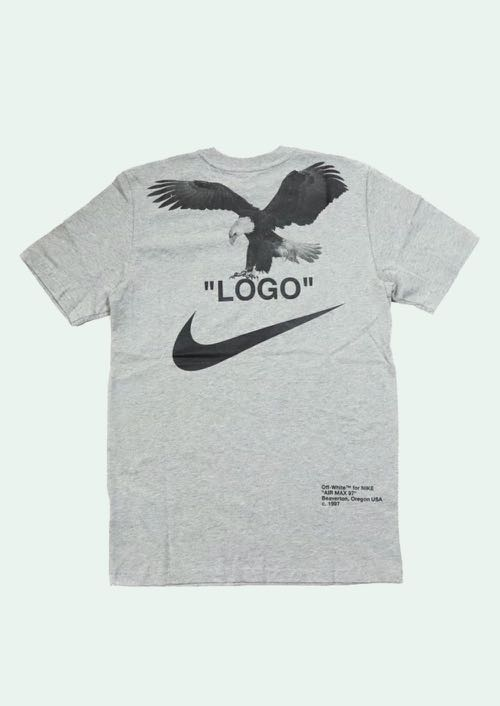 8dfd8ace Off white X Nike t-shirt, Men's Fashion, Clothes, Tops on Carousell