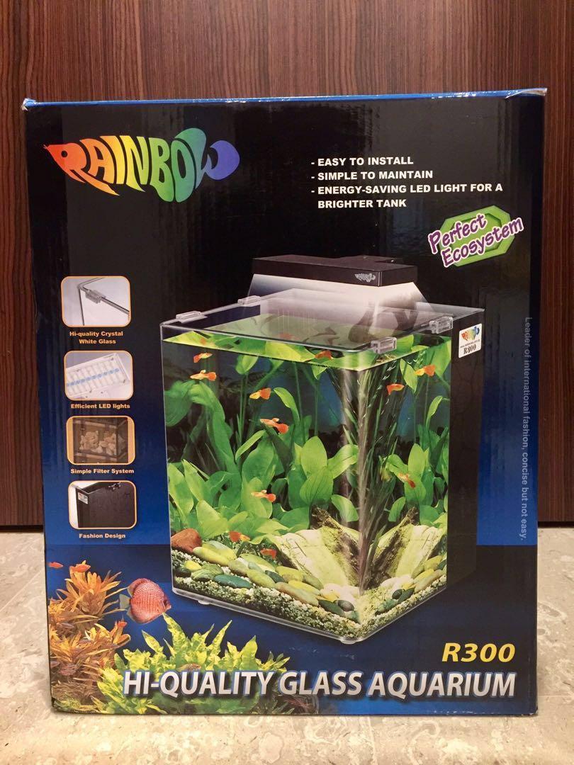 rainbow aquarium r300 pet supplies for fish fish tanks on carousell
