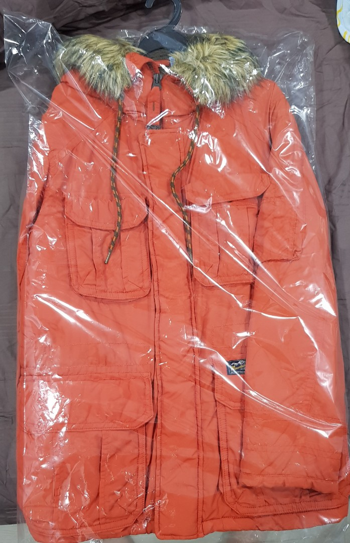 eac838a8cb0 Red mens Winter Coat from Spao Korea!