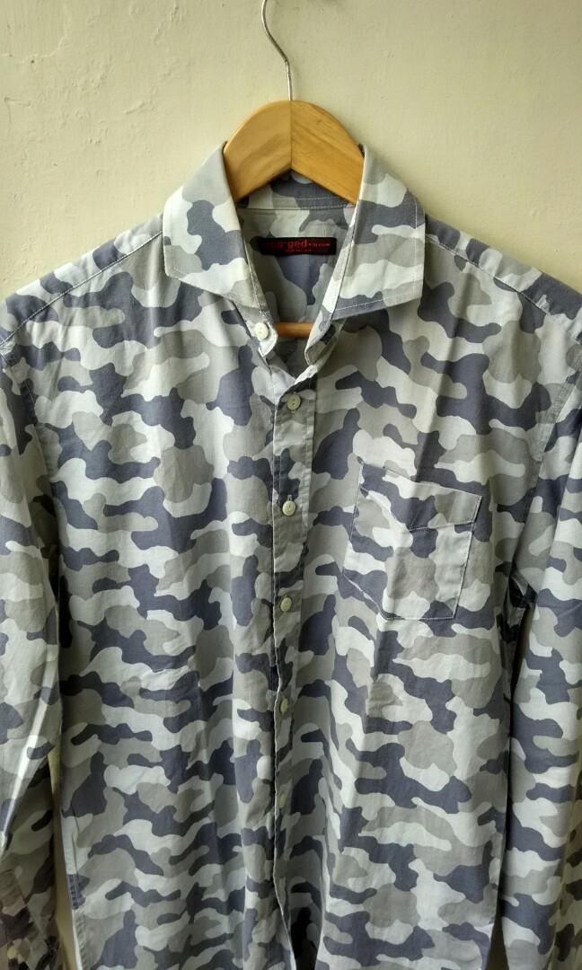 Rug.ged by cceme camo shirt