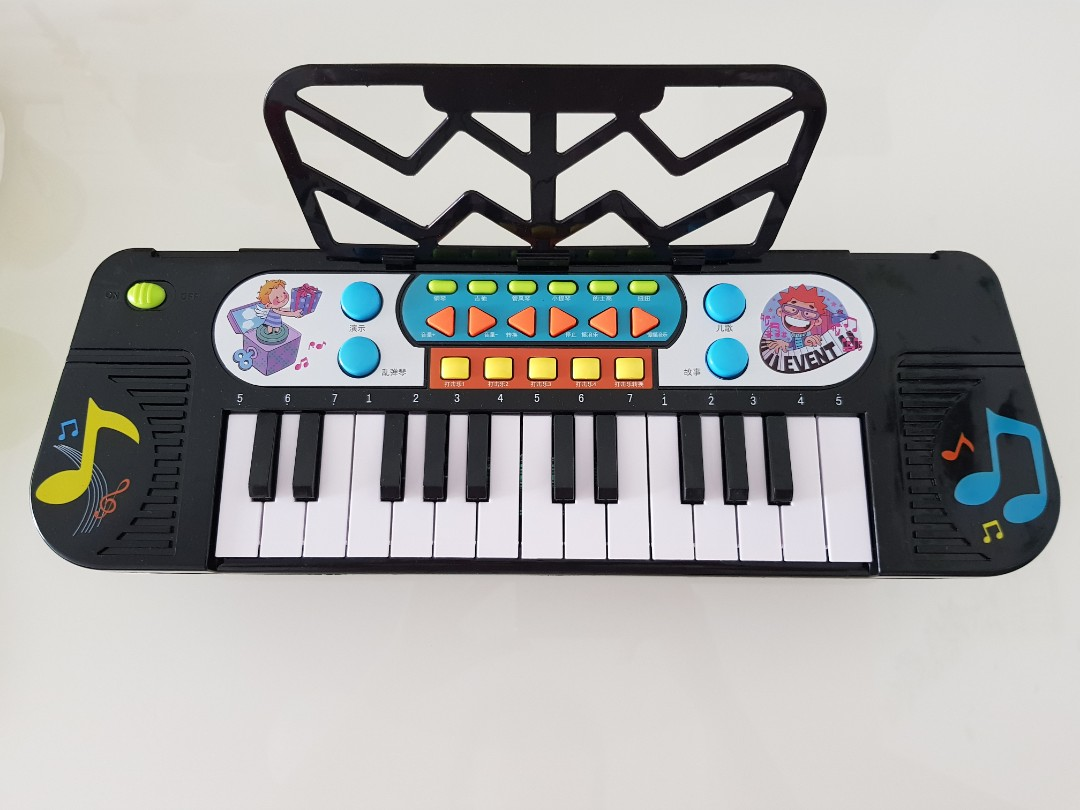 Small toy piano