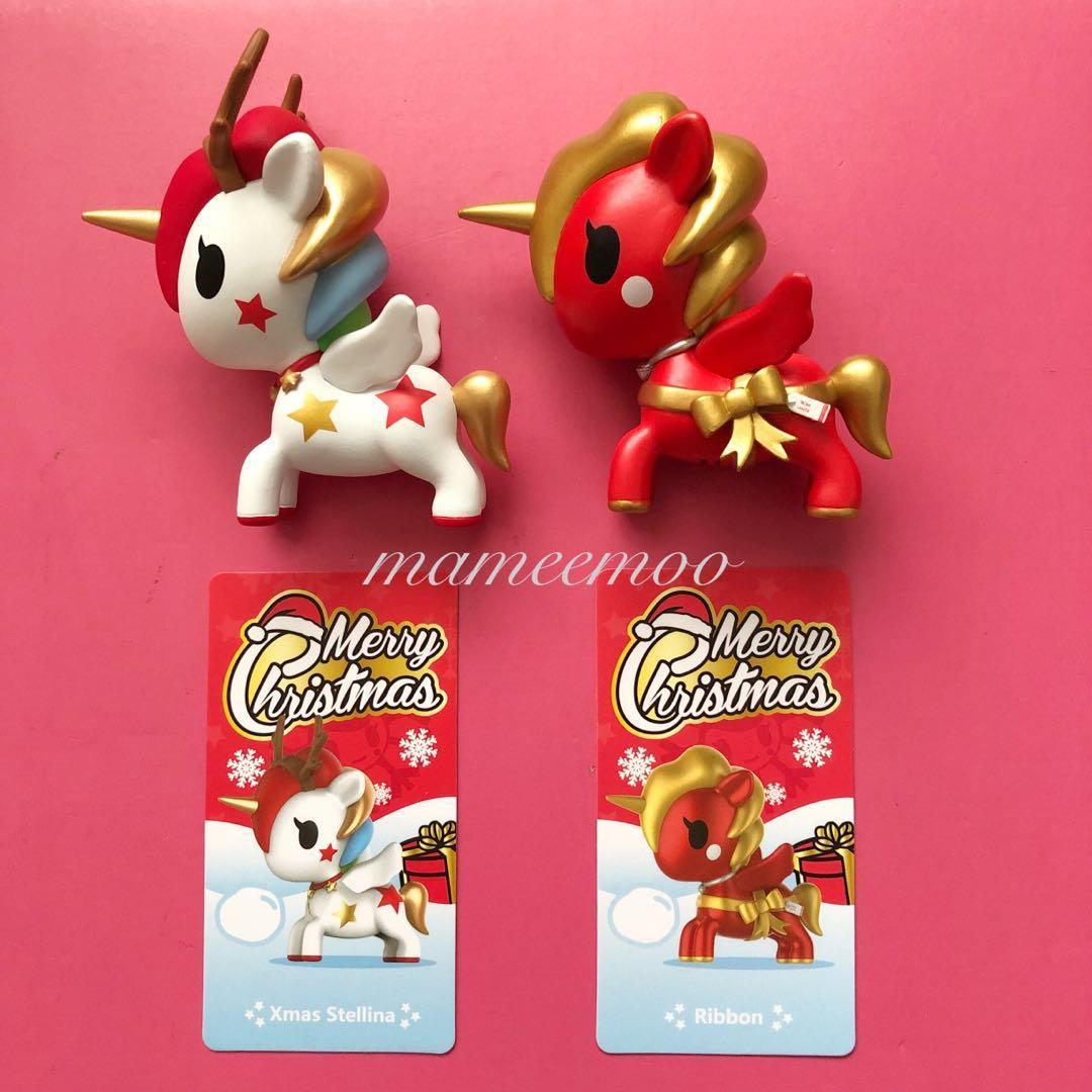 Tokidoki POP MART Unicorno Christmas Figure Designer Toy Figurine Xmas Stellina