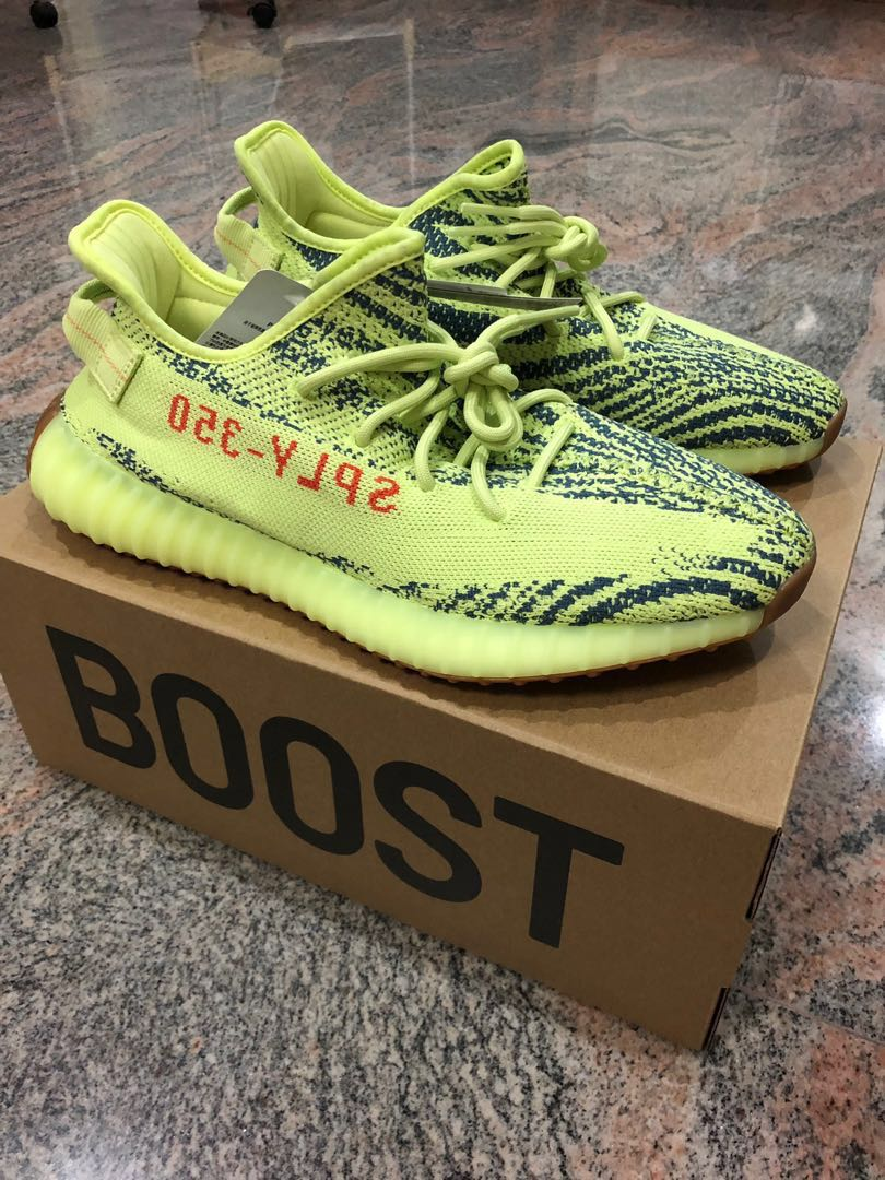 3dcb3ad68 US10.5 Yeezy Boost 350 V2 Semi Frozen Yellow Yeezys