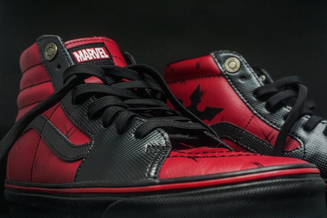 Vans X Marvel SK8 - Hi (Sepatu Deadpool) Limited Edition 362a00dbc