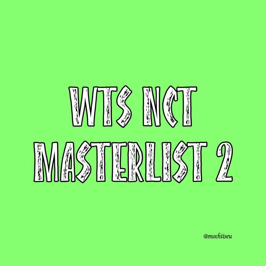 Wts NCT Masterlist 2