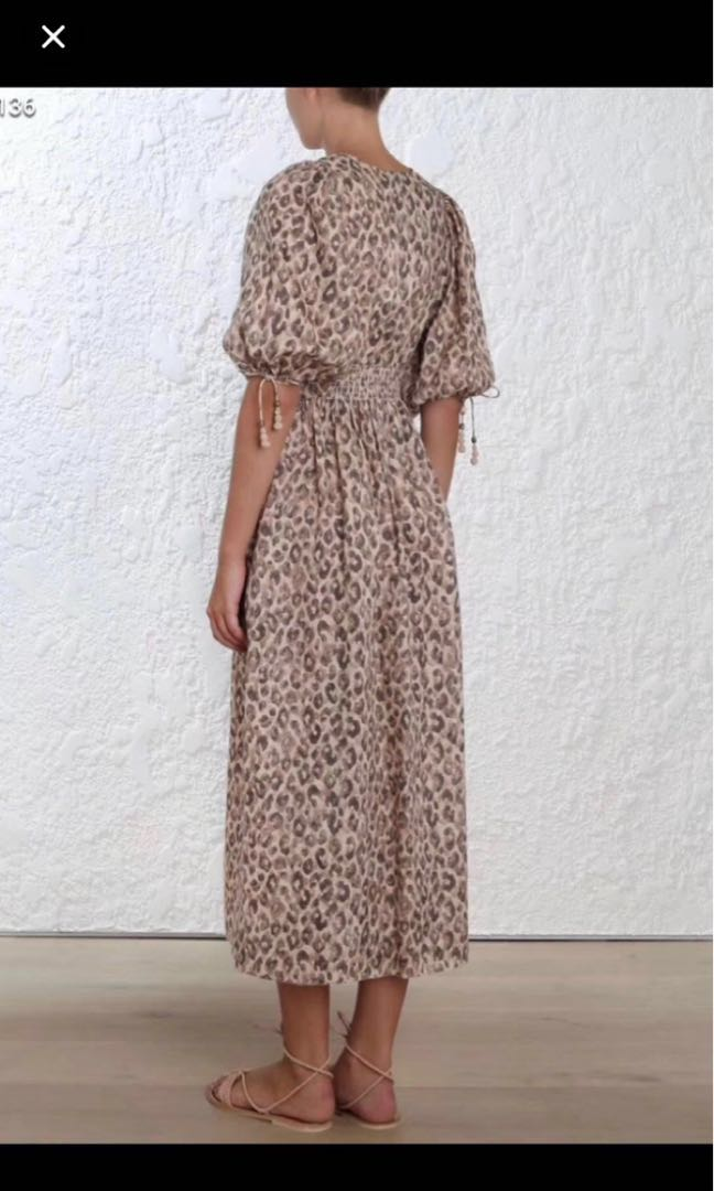 Zimmermann Melody Linen Dress 0 ce0e3948a