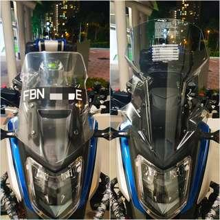 HONDA NC750X 2016, 2017 & 2018 -PUIG TOUR SCREEN (Light Smoke)