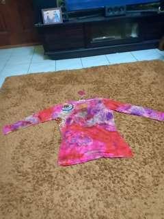 Pashma silk and cashmere.