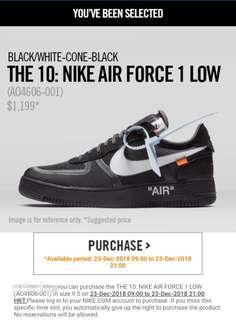 The Ten Nike Air Force 1 Off White offwhite Supreme Yeezy Off-white 10