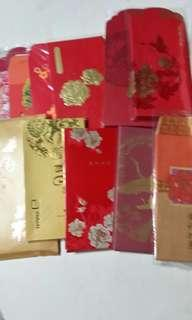 Assorted Chinese New Year Red Packets
