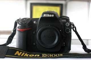 Nikon D300s lengkap BO
